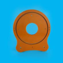 ブラック/オレンジ ベークライト フェノール樹脂シート