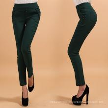 Pantalones flacos de la señora caliente 2016