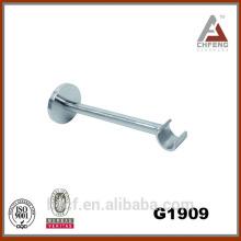G1909 acessórios de suporte de parede de barra de cortina de decoração, suportes simples fixos cromados