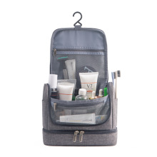 New Hook Hanging Toilet Bag Large Capacity Dry and Wet Separation Cosmetic Bag