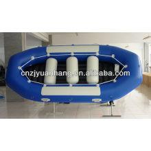 Rio de borracha inflável que transporta o barco 460