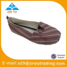Glissement plat sur la chaussure