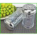 Factory Wholesale 80 Ml Glass Condiment Spice Bottle BBQ Pepper Salt Glass Bottle