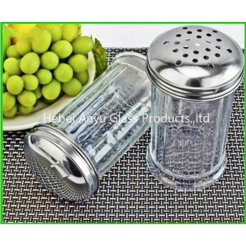 Fabrik Großhandel 80 Ml Glas Gewürz Gewürz Flasche BBQ Pfeffer Salz Glas Flasche