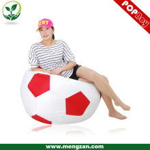 New design football shape room bean bag portable soccer chairs