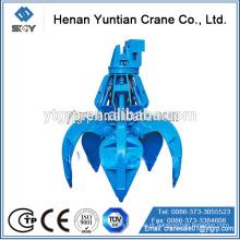 Yuntian, fabricante !!! Guindaste aéreo com balde de garra hidráulica