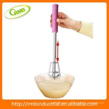 Bomba rotativa de plástico EGG Whisk Egg Beater