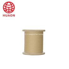 Câble d'aimant en aluminium de papier de câble téléphonique