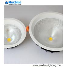 Lámpara de techo de ángulo grande 75degree COB LED 20W