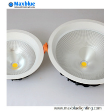 Large Angle 75degree COB LED plafonnier 20W