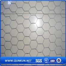 Malha de arame hexagonal galvanizada de alta qualidade