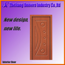 Diseño de la puerta principal de madera Yf-M02
