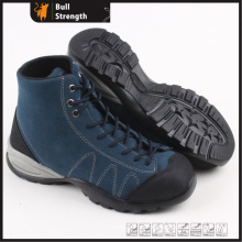 Suede Leather Ankle Safety Shoe with Steel Toe (SN5320)