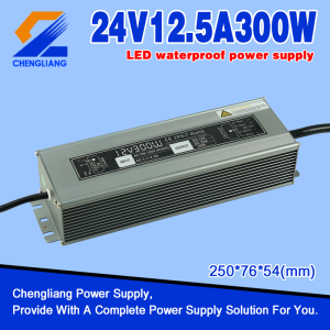 DC 24V 300W Waterproof Switching Power Supply
