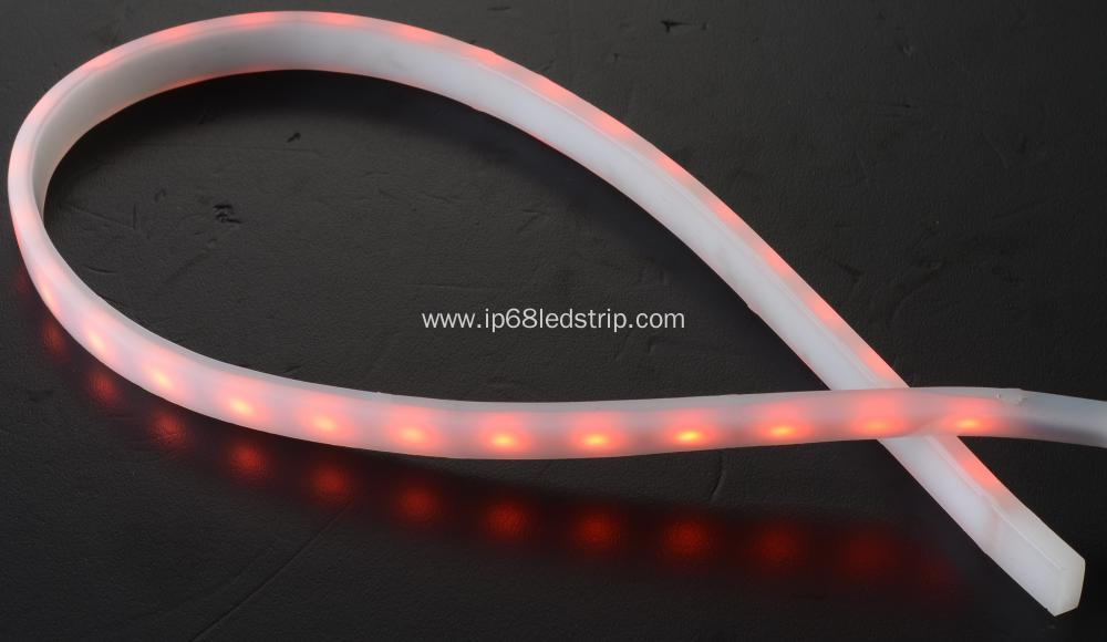 All In One SMD5050 60Leds RGB+W4000K Milky Led Strip Light