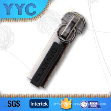Metal Zipper Slider with a/L, Non-Lock Plastic Zipper