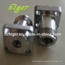 Mecanizado a medida de fundición de piezas de maquinaria de aluminio