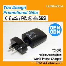 CE, ROHS Aprovado 1a ficha de adaptador inglesa, ODM / OEM fornecem saídas elétricas personalizadas
