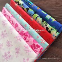 Tissu en flanelle imprimé 100% coton