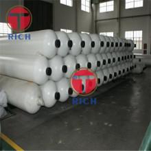 Tubos de aço sem costura GB28884 para cilindro de gás de grande volume