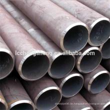 ASTM A106 Gr.B Sch40 BE. Ruß nahtloses Stahlrohr / Weichstahl nahtloses Rohr