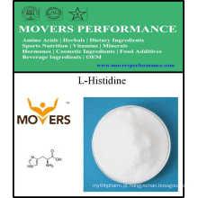 Abastecimento de Fábrica Aminoácidos de Alimentos de Classe L-Histidina