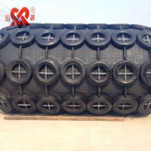 Hecho en China con neumático y cadena flotante goma marina defensa de goma neumática yokohama