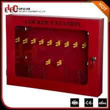 Elecpopular Gute Verkauf Sicherheit Praktische Lockout Management Station aus Stahlplatte gemacht
