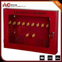 Elecpopular buena venta de seguridad práctico bloqueo Management Station hecho de placa de acero