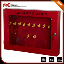 Elecpopular Good Sale Safety Practical Lockout Management Station Made From Steel Plate