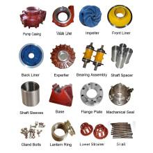 High Chrome Alloy/ Rubber Slurry Pump Spare Parts