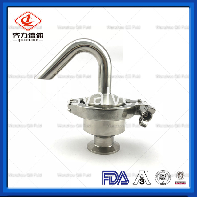 Sanitary Stainless Steel Air Release Valve 1