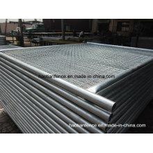 48mm De. Paneles de valla de temperatura galvanizados de servicio pesado