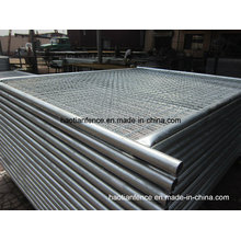 48mm Od. Panneaux de clôture à température galvanisée lourds