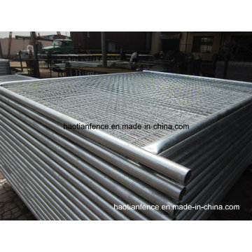 40mm Od. Heavy Duty Galvanized Temporary Fence Panel