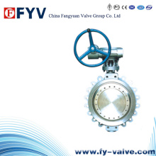 API Stainless Steel Lug Butterfly Valve with Handwheel