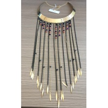 AAA New Style Choker with Metal Tassel