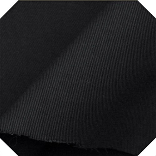 black twill fabric