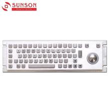 Металлическая клавиатура из нержавеющей стали 304 для машины самообслуживания