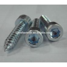 zinc plated hex socket screw,allen head bolt
