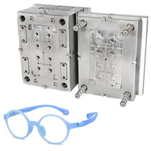 mold for injecting pieces customized service precision plastic injection glasses frame mould