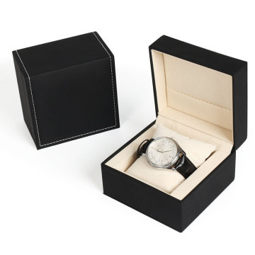 Luxury PU Rigid Watch Gift Box