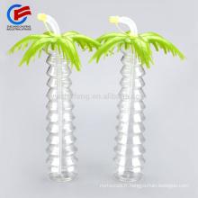 vente en gros Yard Tasses Slush Slushy Palms bouteille d'eau translucide 530ml