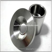 Pièces en acier chromées Pièces en acier inoxydable à miroir Parties CNC