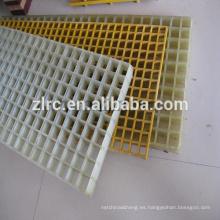 Rejilla de frp de plástico reforzado con fibra de vidrio frp mold prensado de rejilla