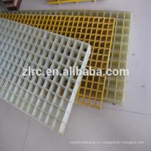 Стеклопластик армированный пластик frp решетки frp прессформа отжимая решетку
