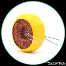 Inductor toroidal de la base verde de la ferrita del modo común para el inversor fotovoltaico