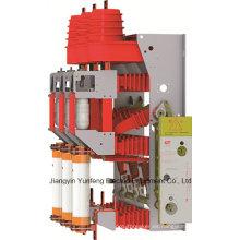 Interruptor de rotura de carga de HV (unidad de combinación de fusible) Yfzrn25-12D/T125-31.5-con interruptor de puesta a tierra