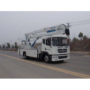 Dongfeng 22m 4x2 used lifted trucks for sale