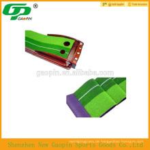 Hochwertige Indoor-Palisander-Minigolf-Ausrüstung, Golf Putting-Trainer